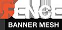 Fence banner Mesh Logo