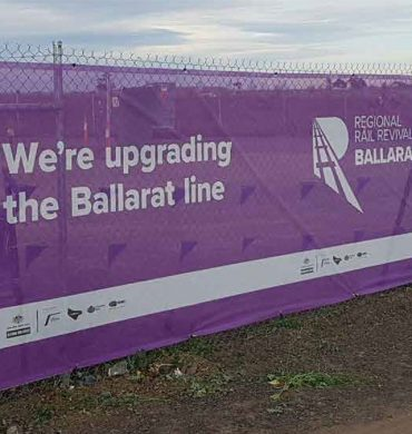 Open Weave Mesh for Ballarat Rail Revival