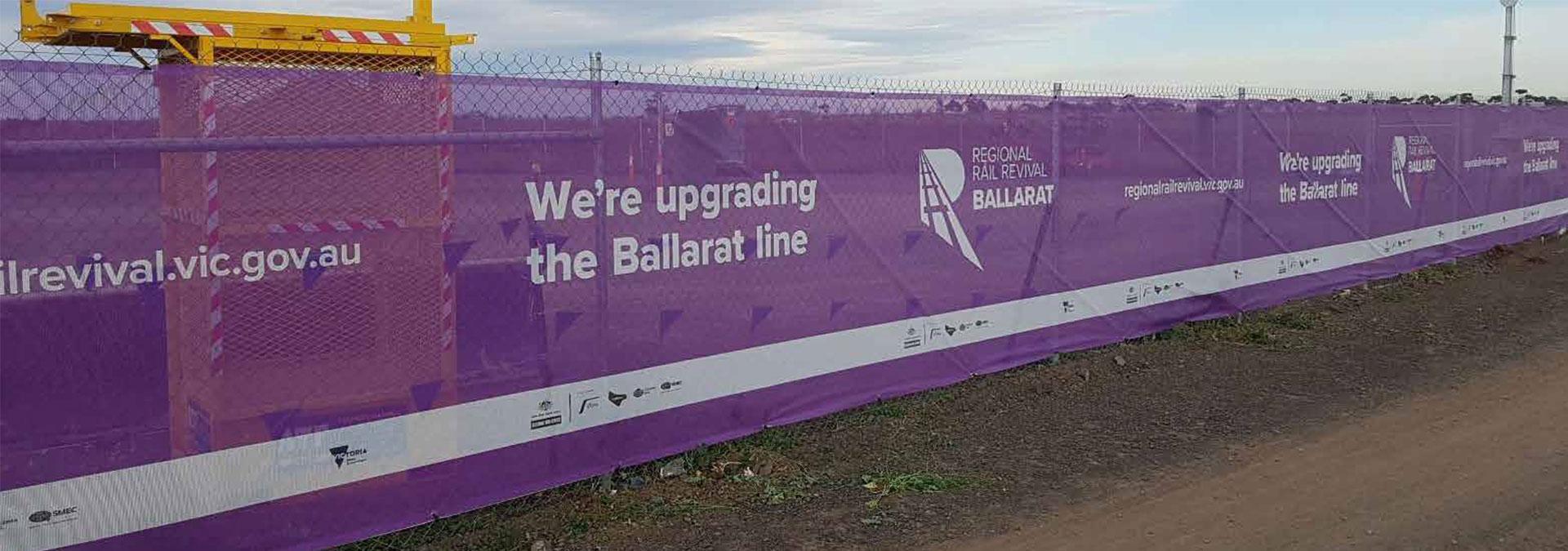 Open Weave Mesh for Ballarat Rail Revival