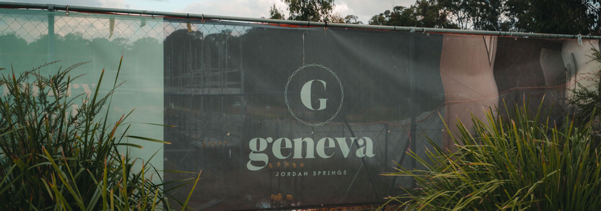 Branded Fence Fabric for Sydney Builders