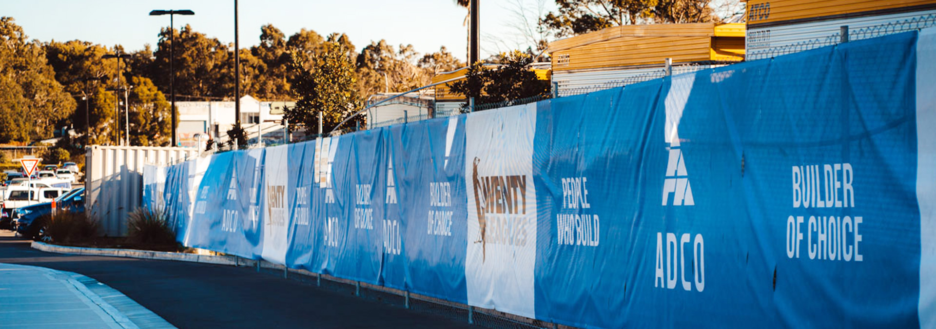 Fence mesh for ADCO's Wenty Leagues Revamp