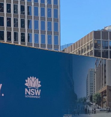 Vinyl Hoarding Banners for Sydney Metro