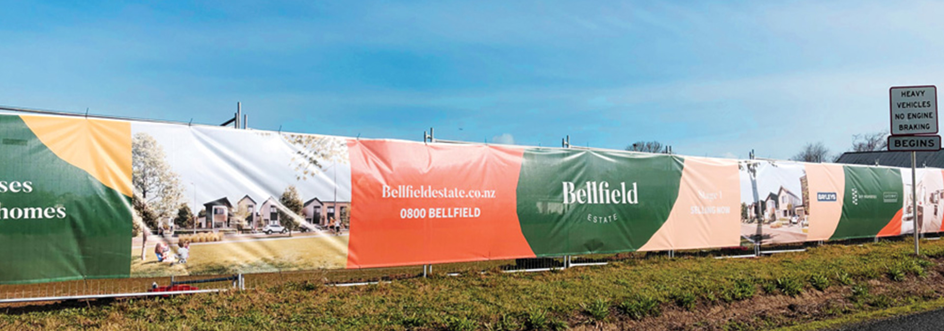Mesh Banners for Builders in Auckland